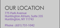 141 East Main Street, Suite 335; Huntington, NY 11743